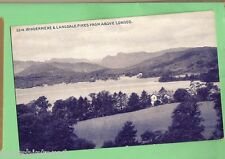 #C. POSTCARD - WINDERMERE & LANGDALE PIKES FROM ABOVE LOWOOD
