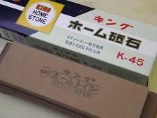FS Japanese waterstone whetstone sharpener King K-45 Grid #1000 ICE BEAR Toishi