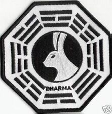 LOST ecusson brodé logo Dharma Station Miroir LOST Dharma station patch