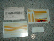Accu-cals  decals HO 001-DF42d Boston Maine EMD FT gold decals   E58