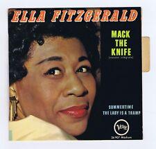 45 RPM EP ELLA FITZGERALD MACK THE KNIFE