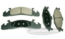 Disc Brake Pad Set-Semi-Metallic Pads Front Tru Star PPM259