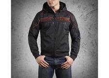 Harley Davidsons Mens Idyl Windproof Performance Soft Shell Jacket