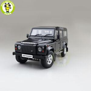 1/18 Century Dragon Land Rover Defender 110 2015 RHD Diecast Model Car Black