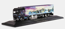 """1:87 HERPA 120586 DAF XF SSC box trailer """"Fabrice Curty II"""" PC COLLECTIBLE MODEL"""