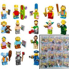 LEGO 16 MINIFIGURAS LOS SIMPSON SERIE 1 (REF.71005).COMPLETA,EN SOBRES ABIERTOS.