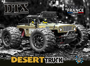 FUNTEK 1/12th Scale 4WD 540 Brushed High Speed Desert Truck - RC Addict
