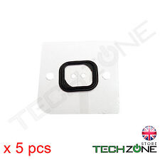 5 X Self Adhesive Rubber Gasket OEM Seal for Apple iPhone 5s Home Button