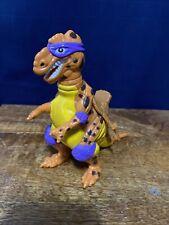 1993 Tmnt Cave Turtle Don Dino Trippy Tyrannosaurus Ninja Turtle Dinosaur