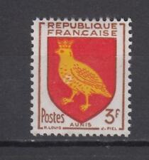1954 FRANCE  TIMBRE NEUF** YVERT N°1004 BLASON AUNIS
