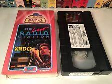 * The Last Radio Station Rare 80's Motown Music VHS 1988 Fantasy Videos