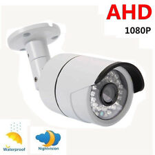2.0MP Waterproof 1080P AHD Outdoor CCTV Home Security Camera Night Vision System