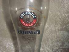 GERMANY ERDINGER WEISSBIER BEER 0.3L GLASS GERMAN BREWERY BIER CERVEZA PIVO