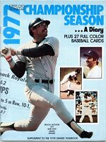 Supplement to 1978 Yankees Yearbook  -- 27 Yankees baseball cards inside