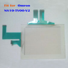 New for Omron NS10-TV00-V2, NS10TV00V2 Touch Screen Glass