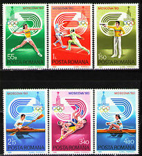 Romania 1980 Sc2962-67  Mi3733-38  6v  mnh  22nd Summer Olympic Games, Moscow