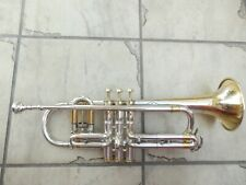Conn Victor New Wonder Trumpet in Silver Plate