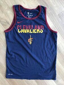 The Nike Tee Cleveland Cavaliers Logo Graphic Print T-Shirt Vest Top M Medium