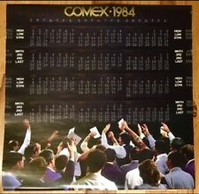 Comex calendar 1984 Wtc Nyc Gold Silver Exchange trading translux Cme