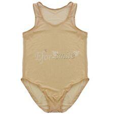 Man Sheer Jockstrap Leotard Wrestling Singlet Bodysuit Jumpsuit Underwear M-XL
