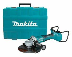 Makita BRUSHLESS AWS ANGLE GRINDER DGA901ZKU1 2x18V 230mm Wheel, Skin Only