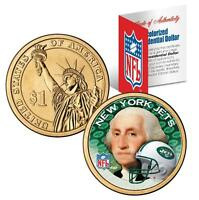 NEW YORK JETS NFL US Mint PRESIDENTIAL Dollar Coin