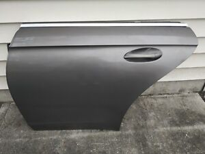 06-11 Mercedes W219 CLS500 Rear Left Driver Side Door Shell Panel Gray