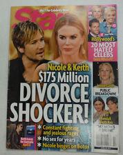 Star Magazine Nicole Kidman & Keith Urban April 2014 NO ML 051115R