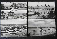 Ba* Carte Postale - CPA-> Lot x 4 =>Arcachon /Côte d'Argent/ Casino / Gironde/33