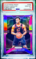 2019-20 Panini Prizm DARIUS GARLAND RC - Purple Prizm #'d /75 - PSA 10 - POP 2 !