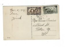 Middle East Syria SYrie 1927 PPC to USA - Ammawi Mosque