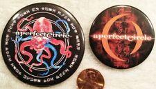 A Perfect Circle Band Pin Button Set 5 Maynard James Keenan Tool Puscifer Rare