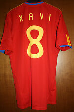 Maglia Shirt Maillot Camiseta Trikot Spagna Xavi Barca Barcelona WC 06 10 Spain