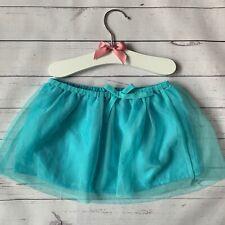 Baby Girls 6-12 Months - TuTu - H&M Bright Blue Turquoise Net Skirt