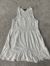 Express White Sleevess Tank Dress Women's Size XS