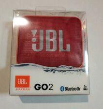 JBL GO 2 Portable Bluetooth Waterproof Speaker (Ruby Red)