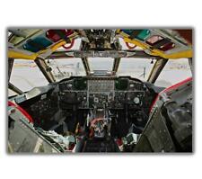 "War Boeing B-52 Stratofortress Flight-Deck cockpit Photo Glossy ""4 x 6"" inch B"