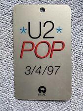 U2 Pop 3/4/97 Release Laminate