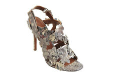 Agnona IT Shoes Women's   Snake leather  38   Grey