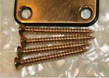 New 4 VIS GOLD 45mm pour plaque de manche guitare et basse