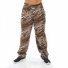 Zubaz NFL Men's Cincinnati Bengals Classic Zebra Print Team Logo Pants