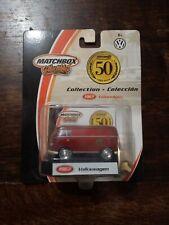 50 YEARS OF MATCHBOX COLLECTIBLES 1/64 1967 VW VOLKSWAGEN KOMBI RED  96975