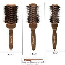 Scalpmaster  Boar Bristles Ceramic and Ionic Nano Technology Hair Brush With Pik