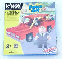 K'nex Family Guy Peter & Station Wagon Building Set 110 Pcs