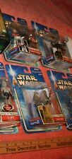 Lot of 8 New Star Wars in Box Hasbro Collection 1 Attack of the Clones Action