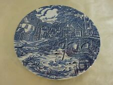 Alfred Meakin The Post House Blue & White Dinner Plate 25cm diameter