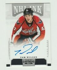 Tom Wilson 13/14 Contenders NHL Ink Autograph 2013/14