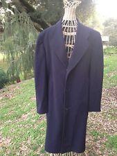 Cashmere Men's Genuine Soft Over Coat Montreal Nelson Douglas Clothiers Nice Vtg