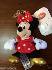 Shanghai Disney Store Exclusive Minnie Mouse Key Chain With Golden Shoes LE 5000