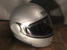 NOLAN X-Lite X-1002 Large Silver Smart Lift Helmet Italy